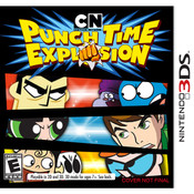 Punch Time Explosion Video Game for Nintendo 3DS