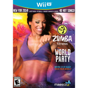 Zumba Fitness World Party Video Game for Nintendo Wii U