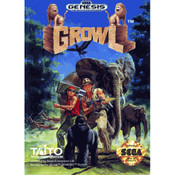 Complete Growl Video Game for Sega Genesis