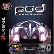 Pod Speedzone Video Game for Sega Genesis