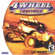 4 Wheel Thunder Video Game for Sega Dreamcast