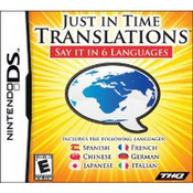 Just in Time Translations Video Game for Nintendo DS