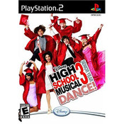 High School Musical 3 Dance Video Game for Sony PlayStation 2