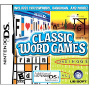 Classic Word Games Video Game for Nintendo DS