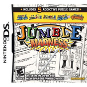 Jumble Madness Video Game for Nintendo DS