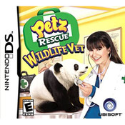 Petz Rescue Wildlife Vet Video Game for Nintendo DS