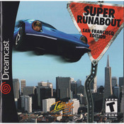 Super Runabout SF Edition Video Game for Sega Dreamcast