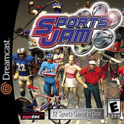 Sports Jam Video Game for Sega Dreamcast