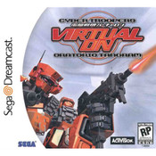 Virtual-On Ontorio Tangram Video Game for Sega Dreamcast