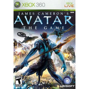Avatar The Game Video Game for Microsoft Xbox 360