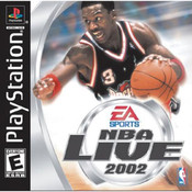 NBA Live 2002 Video Game For Sony PS1