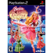 Barbie in the 12 Dancing Princess Video Game For Sony PS2