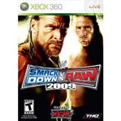 WWE Smackdown vs Raw 2009 Video Game for Microsoft Xbox 360