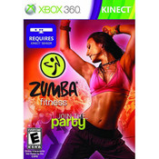 Zumba Fitness Video Game For Microsoft Xbox 360
