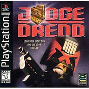 Judge Dredd Video Game For Sony PS1