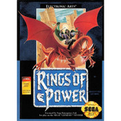 Rings of Power Empty Box For Sega Genesis