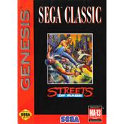 Streets of Rage Sega Classics Cover Empty Box For Sega Genesis