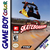 Skateboarding Featuring Andy Macdonald Video Game For Nintendo GBC