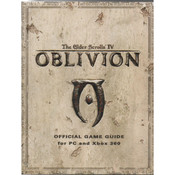 Elder Scrolls IV Oblivion Official Game Guide For Microsoft Xbox 360