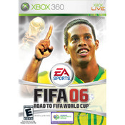 Fifa 06 Road to Fifa World Cup Video Game For Microsoft Xbox 360