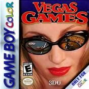 Vegas Games Video Game For Nintendo GBC