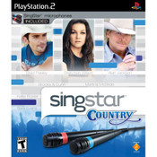 Singstar Country Video Game For Sony PS2