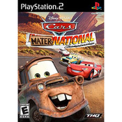 Cars Mater-National Championship Video Game For Sony PS2