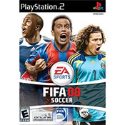 FIFA Soccer 08 Video Game for Sony PlayStation 2