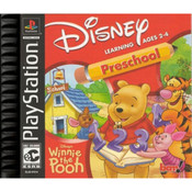 Winnie the Pooh Preschool Video Game For Sony PS1