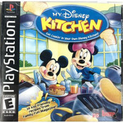 My Disney Kitchen Video Game For Sony PS1