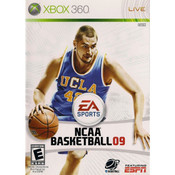 NCAA Basketball 09 Video Game For Microsoft Xbox 360