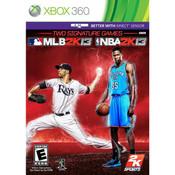 MLB 2k13 and NBA 2k13 Video Game For Microsoft Xbox 360