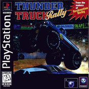 Thunder Truck Rally Video Game For Sony PS1