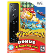 Complete Fling Smash w/ Wii Remote Plus Bundle Video Game For Nintendo Wii