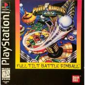 Power Rangers Zeo Full Tilt Battle Pinball Video Game For Sony PS1