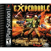 Expendable Video Game For Sony PS1