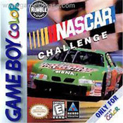 Nascar Challenge Video Game For Nintendo GBC
