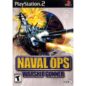Naval Ops Warship Gunner Video Game For Sony PS2