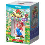 Complete Mario Party 10 w/ Mario Amiibo Bundle For Nintendo Wii U