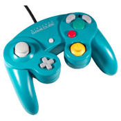 Original Emerald Blue Controller Nintendo GameCube / Wii (Cosmetically Flawed) for sale online.