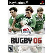 Rugby 06 Video Game For Sony PS2