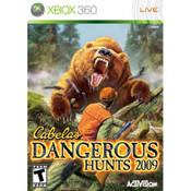 Cabela's Dangerous Hunts 2009 Video Game For Microsoft Xbox 360