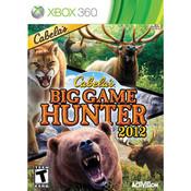 Cabela's Big Game Hunter 2012 Video Game For Microsoft Xbox 360