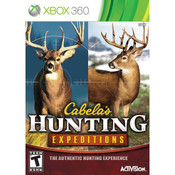 Cabela's Hunting Expeditions Video Game For Microsoft Xbox 360