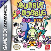 Bubble Bobble Old and New Video Game For Nintendo GBA