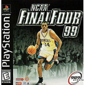 NCAA Final Four 99 Video Game For Sony PS1