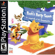 Pooh's Party Game: In Search of the Treasure Video Game For Sony PS1