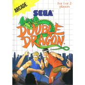 Double Dragon Video Game For Sega Master System
