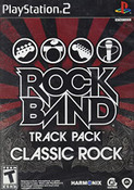 Rock Band Track Pack Classic Rock Video Game For Sony PS2