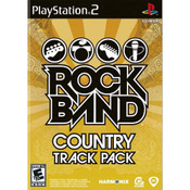 Rock Band Country Track Pack Video Game For Sony PS2